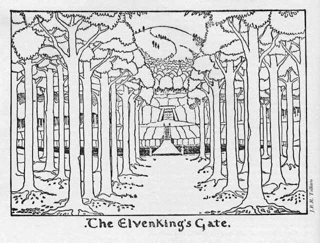 """""""The Elven King's Gate"""" (εικόνα 4α)"""