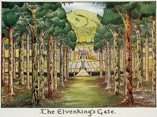 """""""The Elven King's Gate"""" (εικόνα 4β)"""
