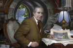 JRR Tolkien - oil on panel - 2012 Donato Giancola