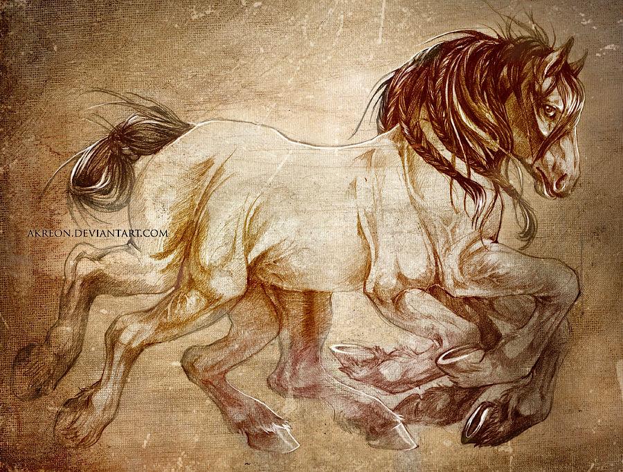 Sleipnir by Akreon