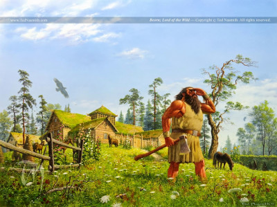 Beorn Lord of the Wild by Ted Nasmith
