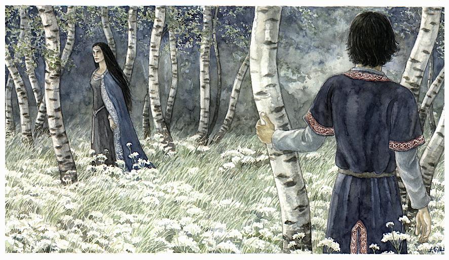 Arwen & Aragorn by Anke Katrin Eissmann