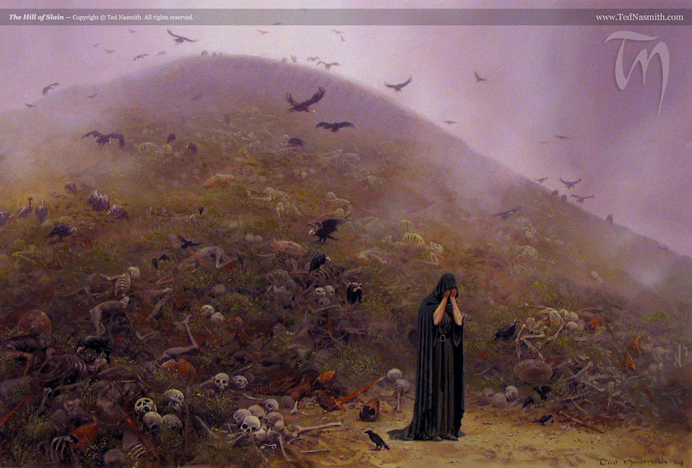 The Hill of Slain by Ted Nasmith