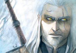 Geralt of Rivia by obsidiurne-morgil.deviantart.com
