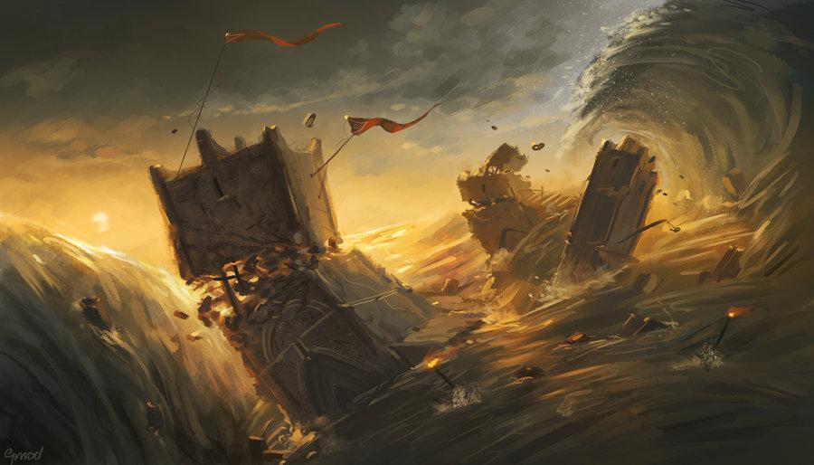 Akallabeth by Grrrod - Deviant art