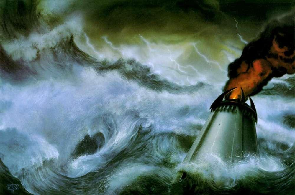 The Fall of Númenor, by John Howe