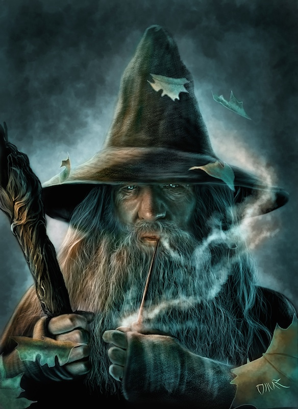 Gandalf the grey by Omar Atef