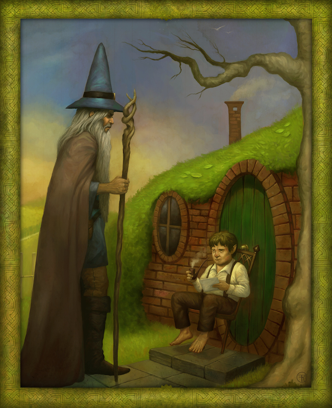 Meeting Gandalf by Frank Venice