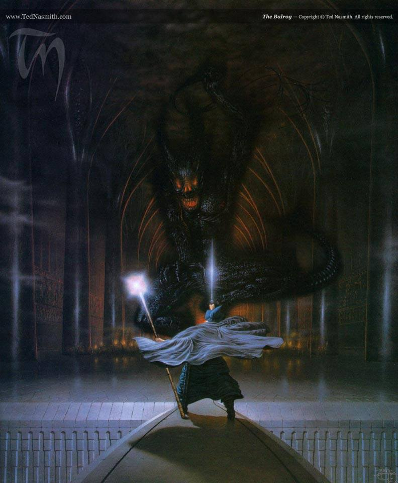 Balrog by Ted Nasmith
