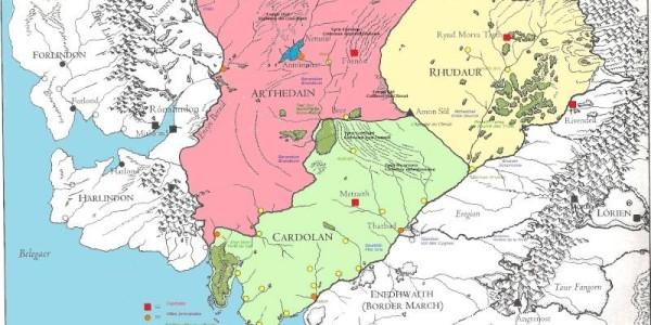 Arnor map