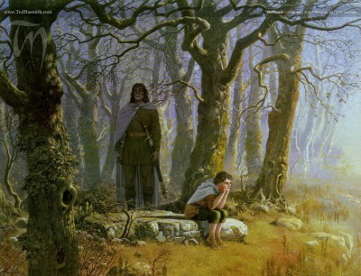Boromir by Ted Nasmith