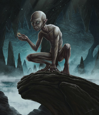 Gollum - ring