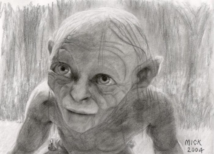 Why does it cry, Smeagol?